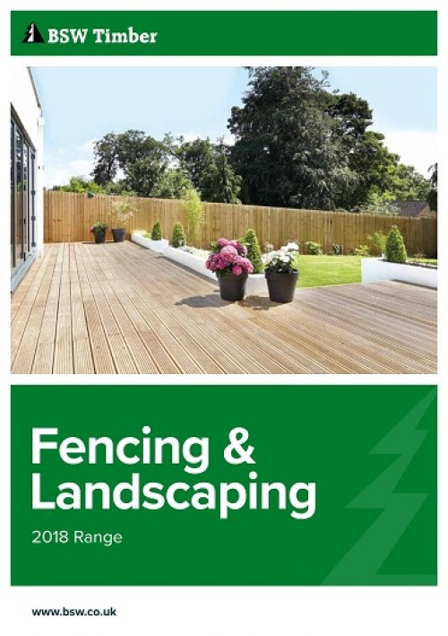 2018 fencing and landscaping brochure