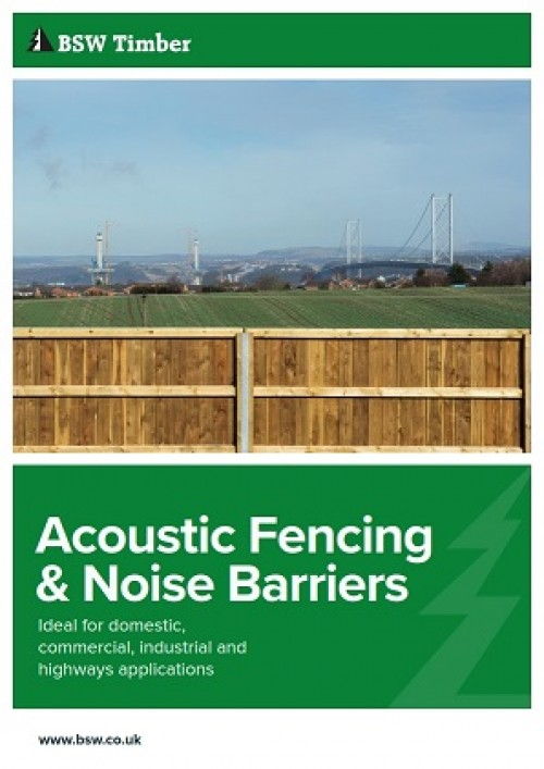 Acoustic fencing and noise barriers brochure