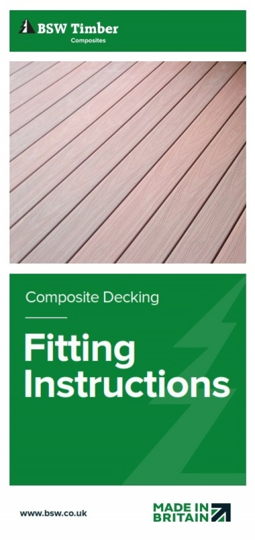 Habitat composite decking installation instructions