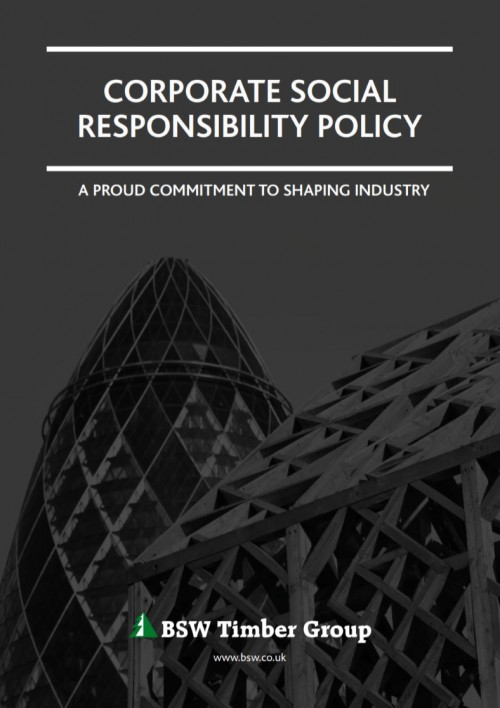 BSW corporate social responsibility policy