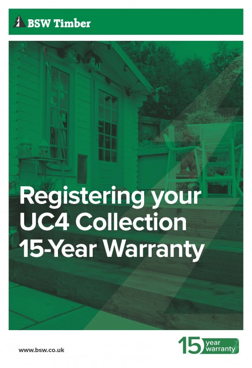 Warranty information - UC4 Collection