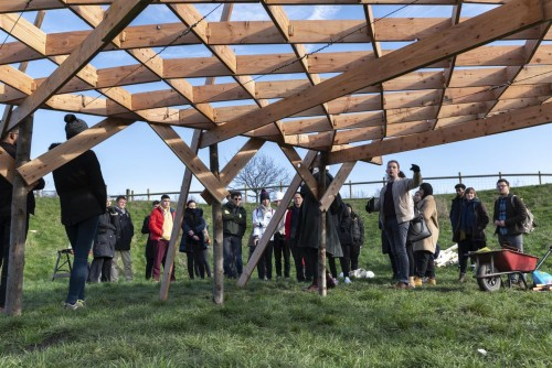 BSW supports Britain's future architects with timber donation