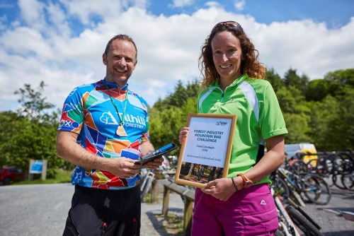 Tilhill Forestry hosts Mountain Bike Challenge in Wales