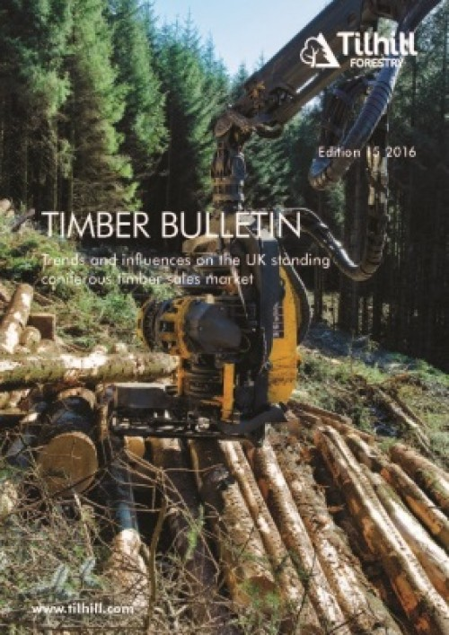 Latest Timber Bulletin Released by Tilhill