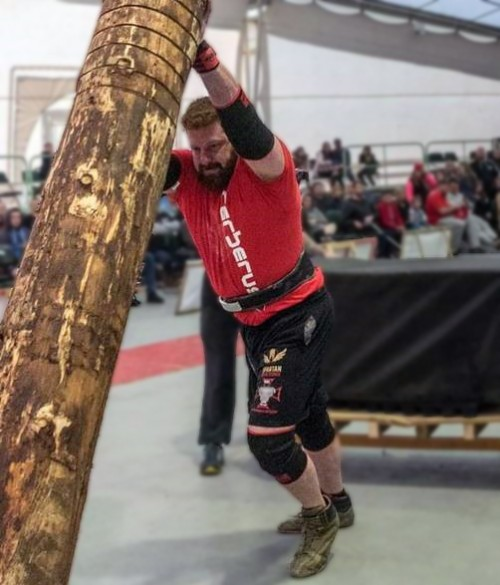 BSW Employee's Journey to be Wales Strongest Man
