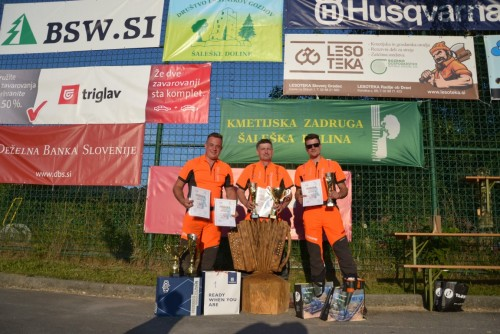 BSW SI sponsors popular chainsaw competition