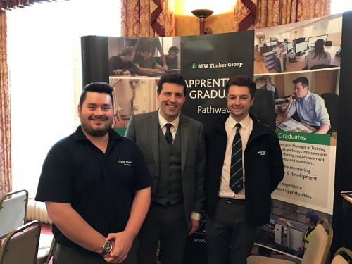 BSW supports launch of Developing the Young Workforce in Scottish Borders
