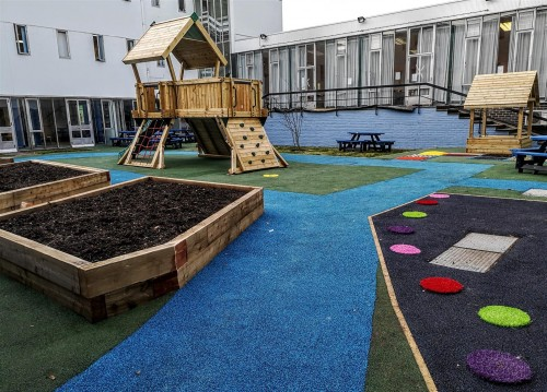 BSW helps create sensory garden