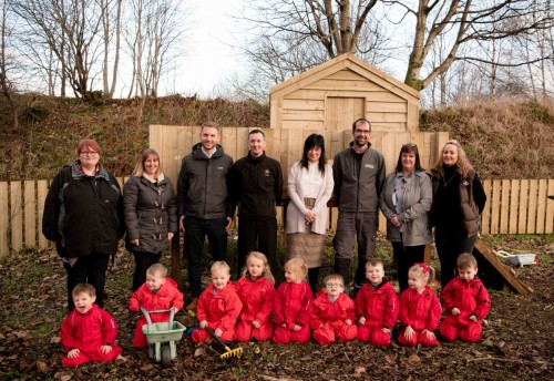 BSW helps create play 'forest' for Little Learners
