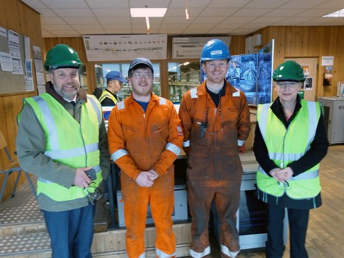 MSP supports BSW apprentice scheme at Dalbeattie