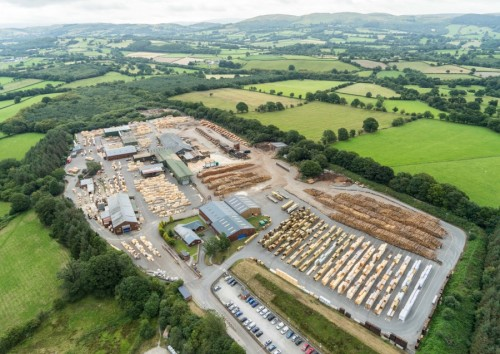 BSW Timber announces multi-million investment programme for Newbridge-on-Wye sawmill
