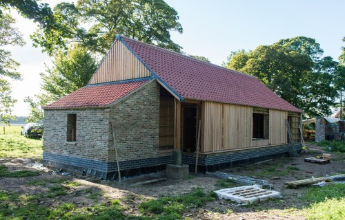 Home Grown Timber Showcased in Innovative Norfolk Barn Project