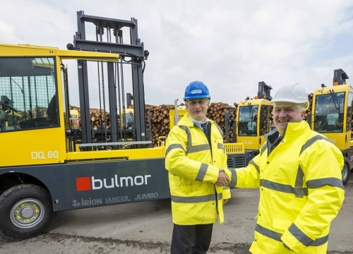 BSW invests £900k in material handling equipment at Newbridge sawmill