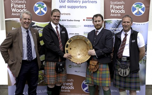 Tilhill Forestry claims fifth successive James Jones award