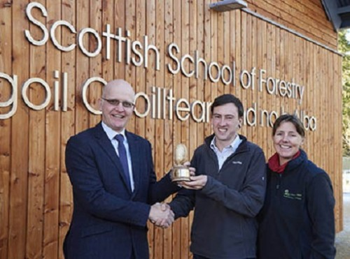 Inverness student wins Tilhill award