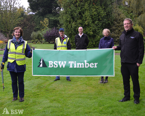 BSW supports the People's Project in Dumfries with timber donation