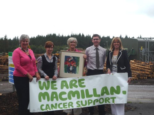 Artwork to be sold to raise funds for Macmillan Cancer Support