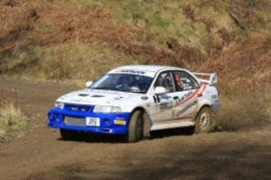 Fantastic team result with 2nd overall for Mike Faulkner and Peter Foy - Border Counties Rally