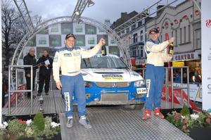 Faulkner & Foy win Wales Rally GB National Rally