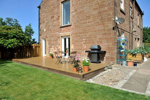 Dumfries garden transformed using BSW Timber