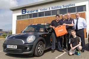 Competition winners decked out for summer with BSW Timber and Paslode