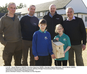 BSW Timber supports Abernethy Primary School and RSPB in development of community woodland