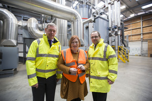 BSW Timber Welcomes Welsh Minister to Newbridge Sawmill