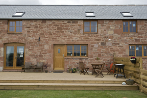 BSW Timber is the perfect fit for Dumfriesshire barn transformation