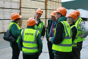 BSW Timber Welcomes Forestry Commission to its Fort William Mill