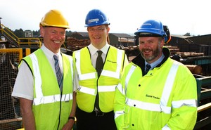 BSW Timber Welcomes Danny Alexander MP to Boat of Garten Mill