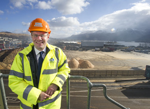 Transport Minister Derek Mackay Visits BSW Timber's Fort William Sawmill