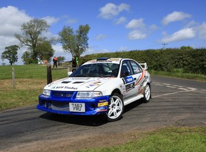 BSW Rally Team has Top 5 Success in MSA Scottish Rally Championship Round