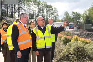 BSW Timber Welcomes Scottish Energy Minister to Dalbeattie Mill
