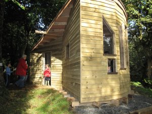 BSW Donates Timber to Help Red Squirrel Conservation