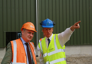 BSW Timber Welcomes Rural Affairs and Environment Minister to Fort William Mill