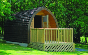 Camping pods turn unused land into glamping goldmines